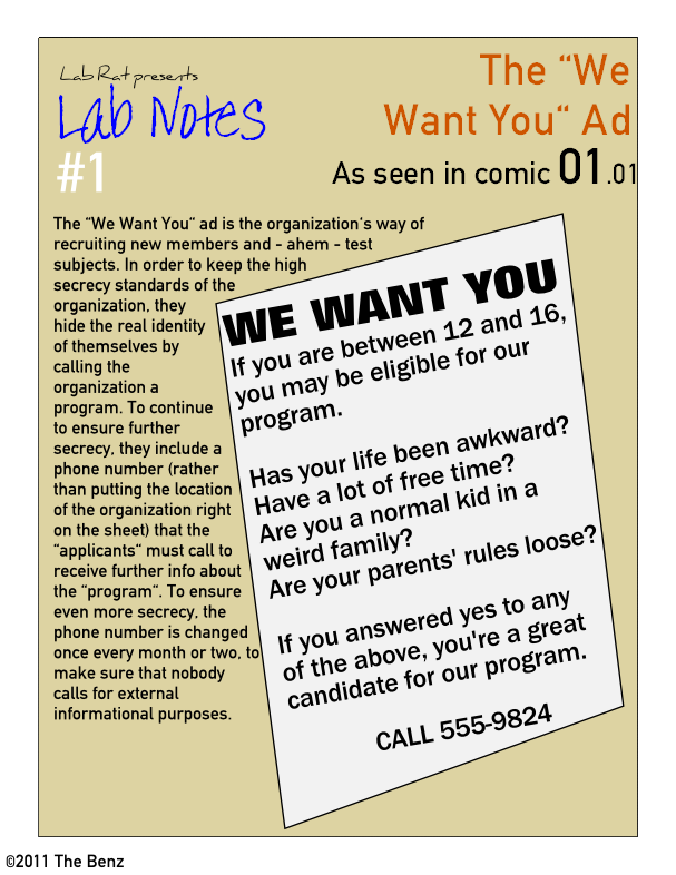 "Lab Notes 01: The ""We Want You"" Ad"