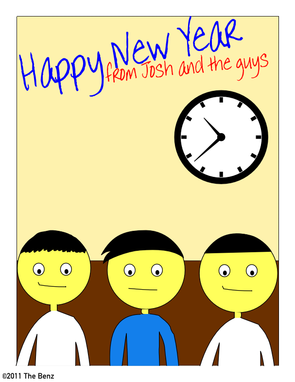 Happy New Year From Josh & The Guys